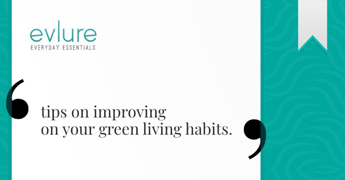 Tips for Improving on Your Green Living Habits