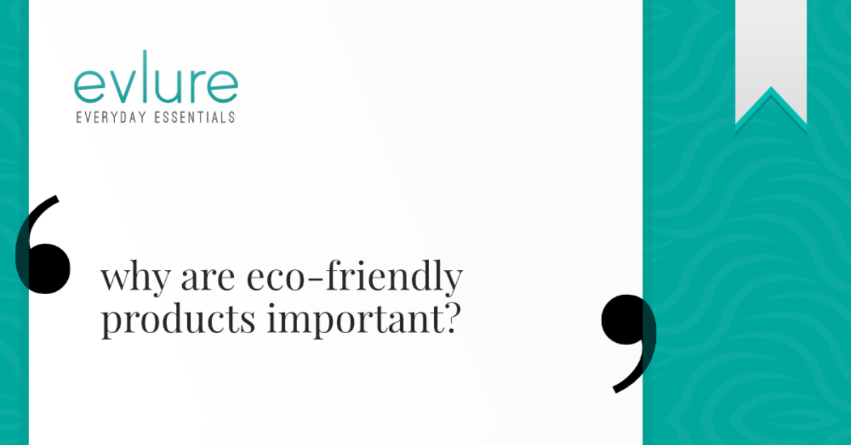 Why Are Eco-Friendly Products Important?